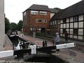 Lock by the Commandery. - geograph.org.uk - 1478067.jpg
