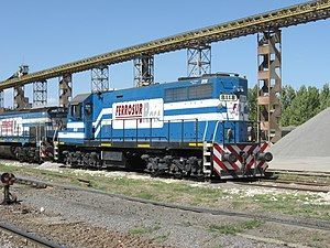 Railway privatisation in Argentina - Ferrosur Roca was granted Roca Railway.