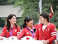 London 2012 Canadian Olympic Female Freestyle Wrestling Team.jpg