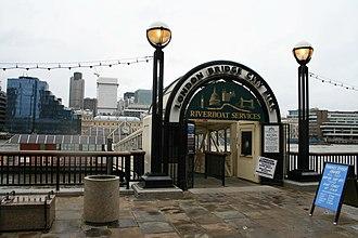 London Bridge City Pier - Image: London Bridge City Pier 3