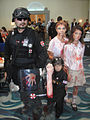 Long Beach Comic Expo 2012 - Resident Evil Umbrella Corp soldiers and zombies (7186649072).jpg
