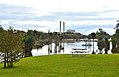 Looking At Waikato River With Flooding In It,Power Station In Background (34838121626).jpg