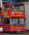 Lothian Buses open top tour bus 505 Dennis Trident SLF Alexander ALX400 T505 SSG City Sightseeing livery (2).jpg