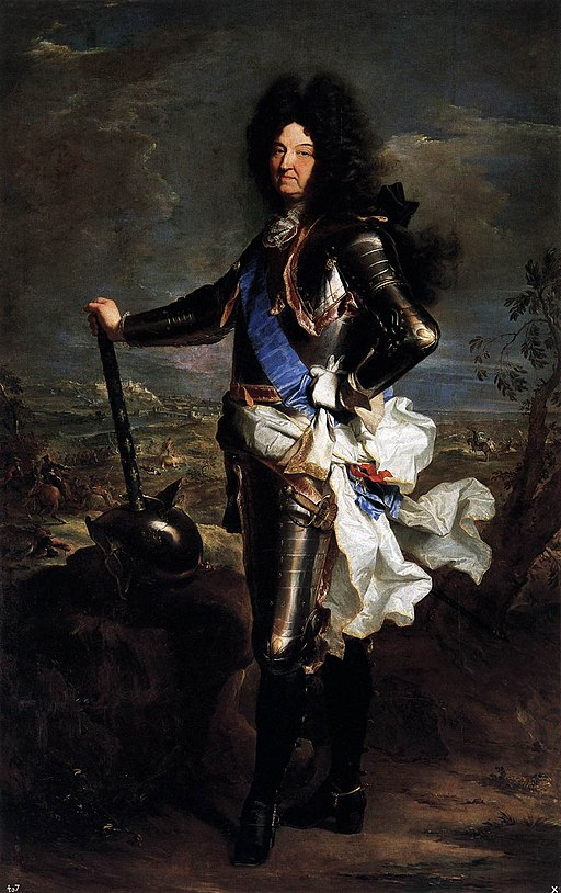Louis le Grand; Rigaud Hyacinthe