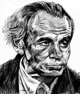 Louis-Ferdinand Céline - Drawing of Louis-Ferdinand Céline