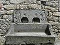 Lourdes château fontaine.JPG