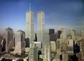 Lower Manhattan skyline, including the World Trade Center, New York, New York LCCN2011633437.tif