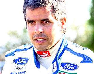 Luís Pérez Companc - Companc at the 2006 Cyprus Rally.
