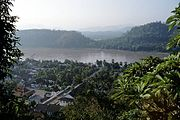 The Mekong river at Luang Prabang