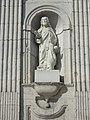 Lucey (Meurthe-et-M.) église façade, statue A.JPG
