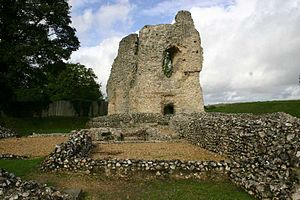 Ludgershall, Wiltshire - Image: Ludgershall Castlec