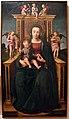 Ludovico brea, madonna in trono col bambino e angeli musicanti, 1510-20 ca..JPG