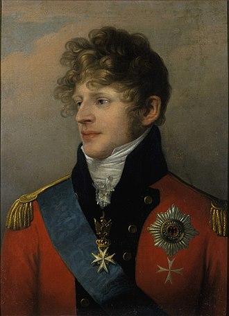 Augustus, Duke of Saxe-Gotha-Altenburg - Image: Ludwig Doell Porträt des Herzogs August von Sachsen Gotha Altenburg