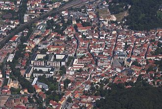 Eisenach - Eisenach's town centre, viewed from the west