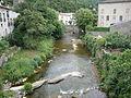 Lunas (Hérault, Fr) le Gravezon avec un pont.JPG
