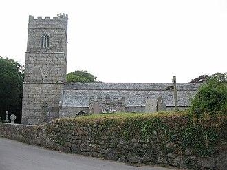 Luxulyan - Luxulyan church