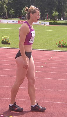 Lyudmila Yosypenko at TNT - Fortuna Meeting in Kladno 16June2010 057.jpg