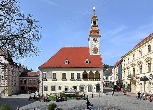 Mödling - altes Rathaus (2)