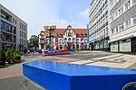 Mülheim adR - Synagogenplatz + Medienhaus + Hajek-Brunnen + Alte Post 01 ies.jpg