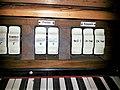 München-Obergiesing, Maria Königin des Friedens (Zeilhuber-Orgel, Notspieltisch) (5).jpg