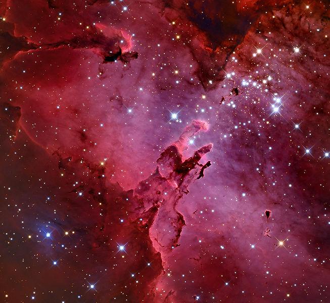 File:M16 Eagle Nebula from the Mount Lemmon SkyCenter Schulman Telescope courtesy Adam Block.jpg