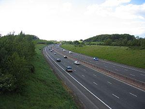 M40 motorway in England