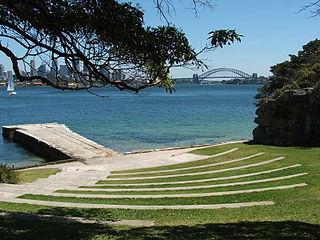 Bradleys Head headland in Sydney, Australia