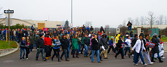 Martin Luther King Jr. Day - A Martin Luther King Day march in Oregon