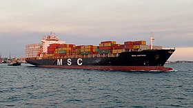 illustration de Mediterranean Shipping Company