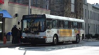 Route 13 (MTA Maryland) - Image: MTA Maryland NABI 9904