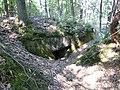 Maasmechelen Steenweg naar As zonder nummer Duits oefenterrein, bunker 9 manschapsbunker in de achterste linie - 226438 - onroerenderfgoed.jpg