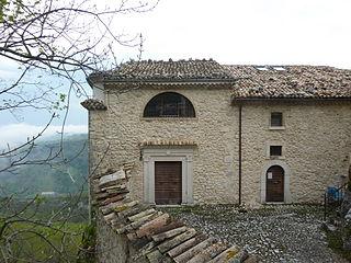 Hermitage of Madonna dellAltare hermitage in Palena (CH), Italy