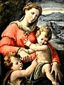 Madonna con Bambino e san Giovannino, Giovanni Battista Ramenghi 001.JPG