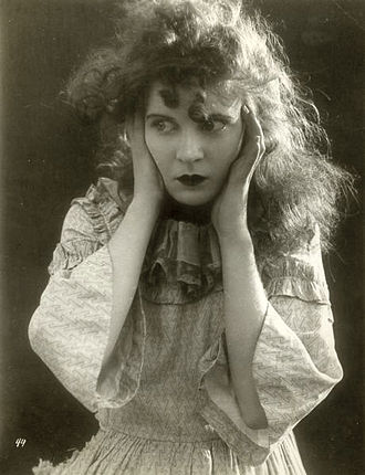 Mae Marsh - Mae Marsh in The Birth of a Nation, 1915.