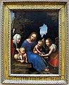 Maestro della madonna della bilancia, madona col bambino, s.elisabetta e s.michele, 1510 ca. 01.JPG