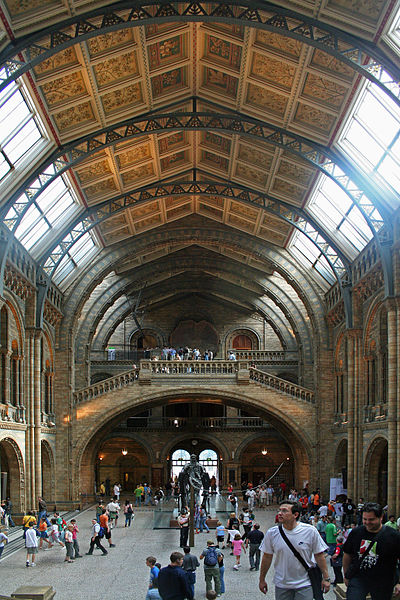 File:Main Hall of the Natural History Museum - London - England.JPG