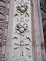 Main gate detail, St. Stephen's Basilica, 2016 Budapest.jpg