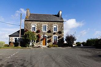 Le Bodéo - The town hall of Le Bodéo