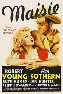 <i>Maisie</i> (film) 1939 film by Edwin L. Marin