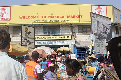 How to get to Makola Market with public transit - About the place