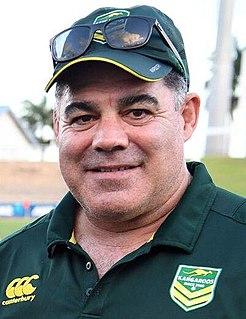 Mal Meninga Australian rugby league player and coach