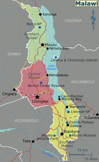 Malawi Travel guide at Wikivoyage