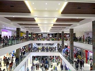 Mall of Travancore - Interior of Mall of Travancore