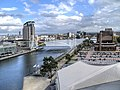 Manchester Ship Canal, Salford Quays (geograph 3720284).jpg