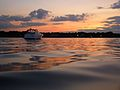 Manhasset Bay Moored Boat at Sunset 3.jpg