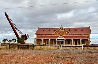 Mannahill, South Australia Town in South Australia