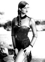 Manuela Arcuri, 1995, fotografata da Alberto Magliozzi