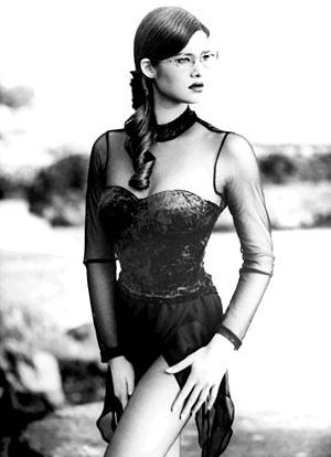 Manuela Arcuri - Manuela Arcuri at 18 in 1995
