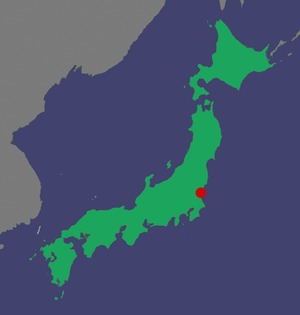 Map, location of Tokaimura nuclear accident.tif