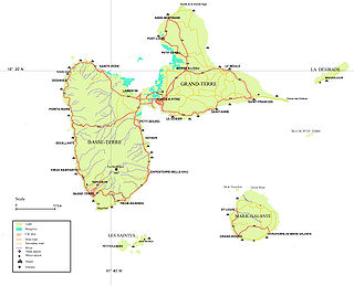 Arrondissements of the Guadeloupe department Wikimedia list article